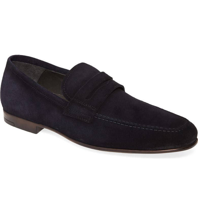 TO BOOT NEW YORK Corbin Penny Loafer, Main, color, BLUE
