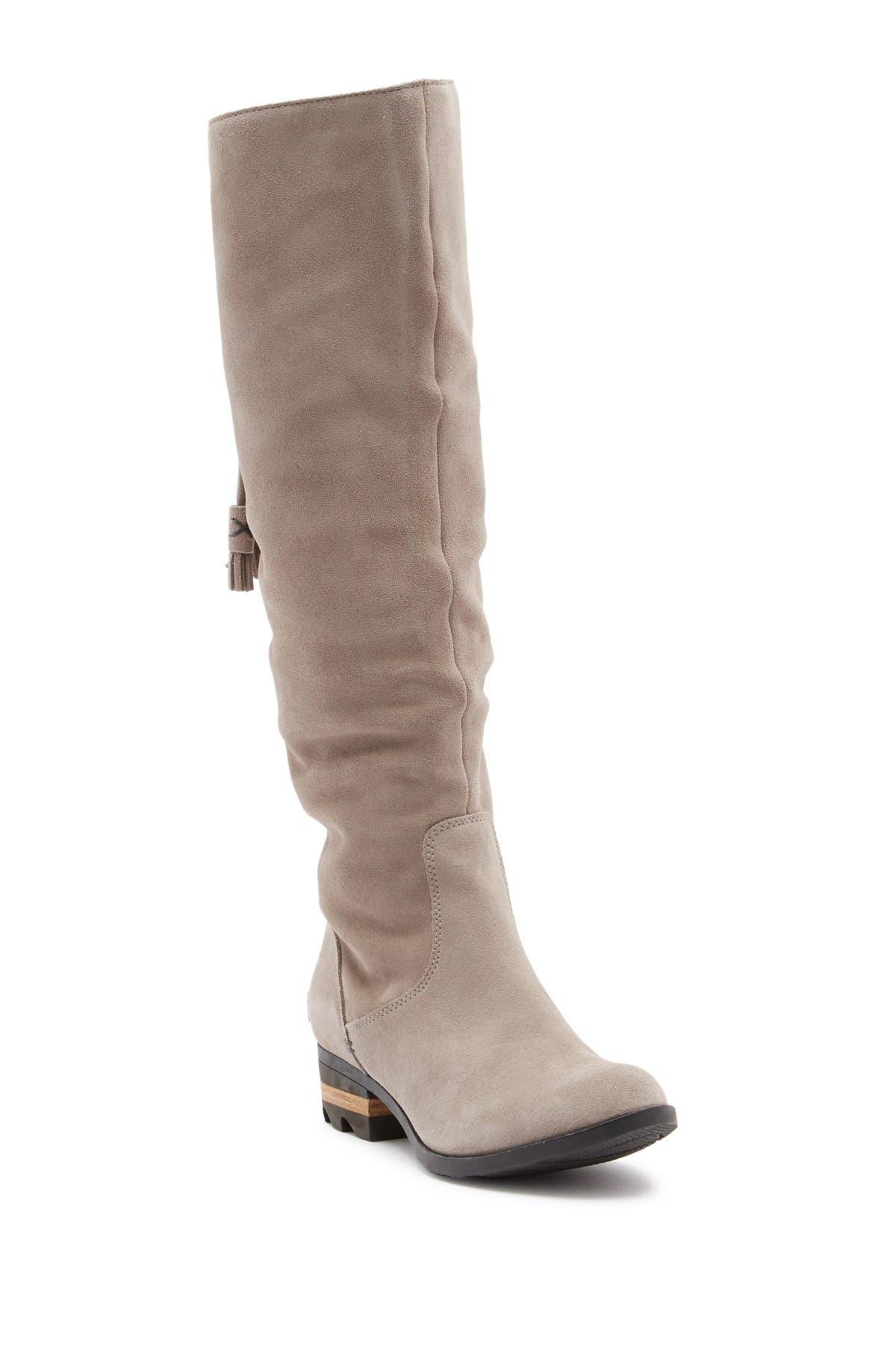 Sorel | Farah Tall Waterproof Suede