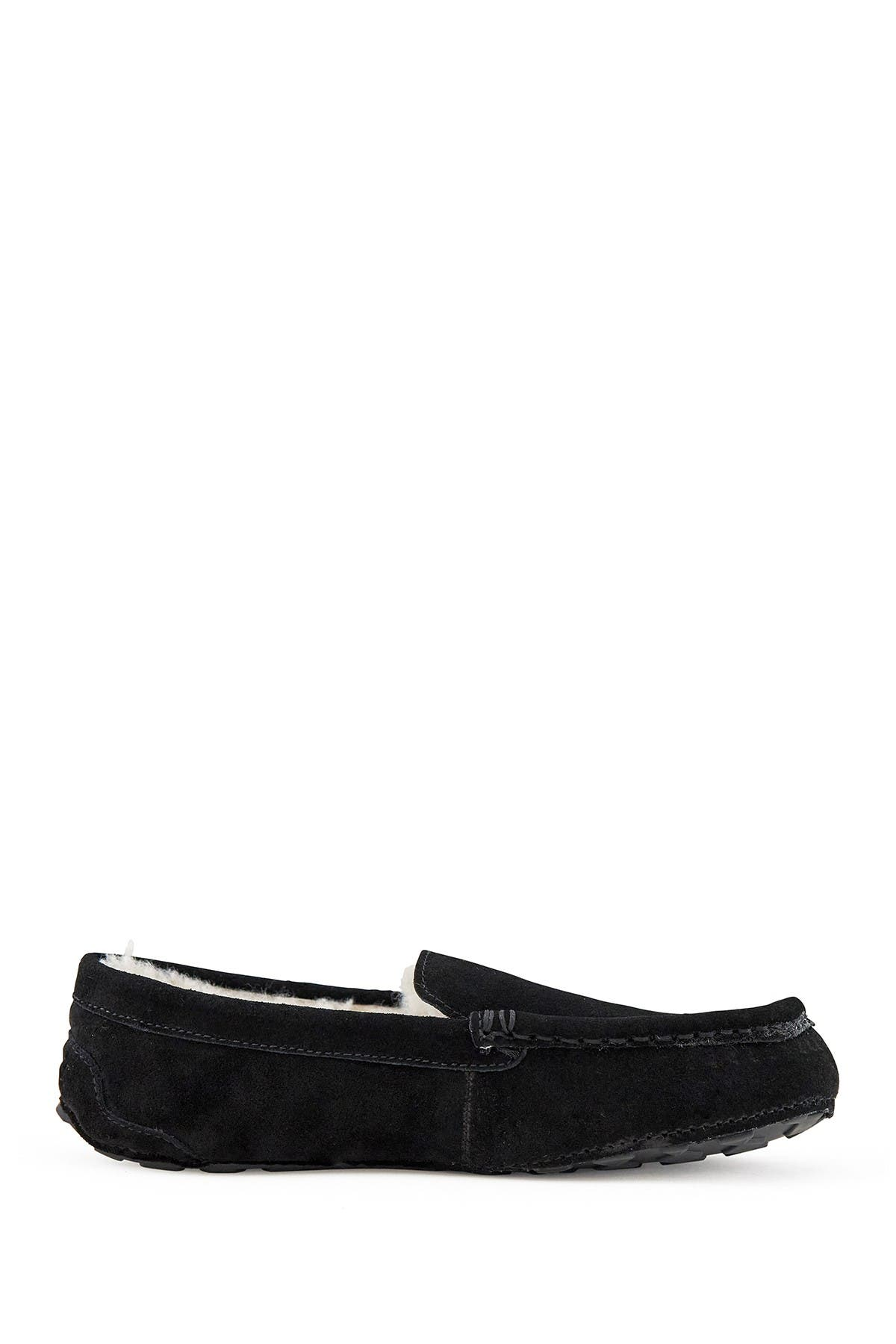 Image of NEST FOOTWEAR Toasty Suede Faux Fur Lined Moccasin