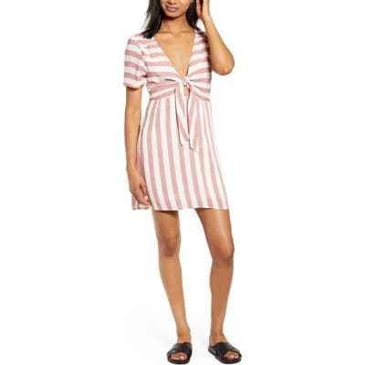 Lira Clothing Out West Stripe Dress, Red