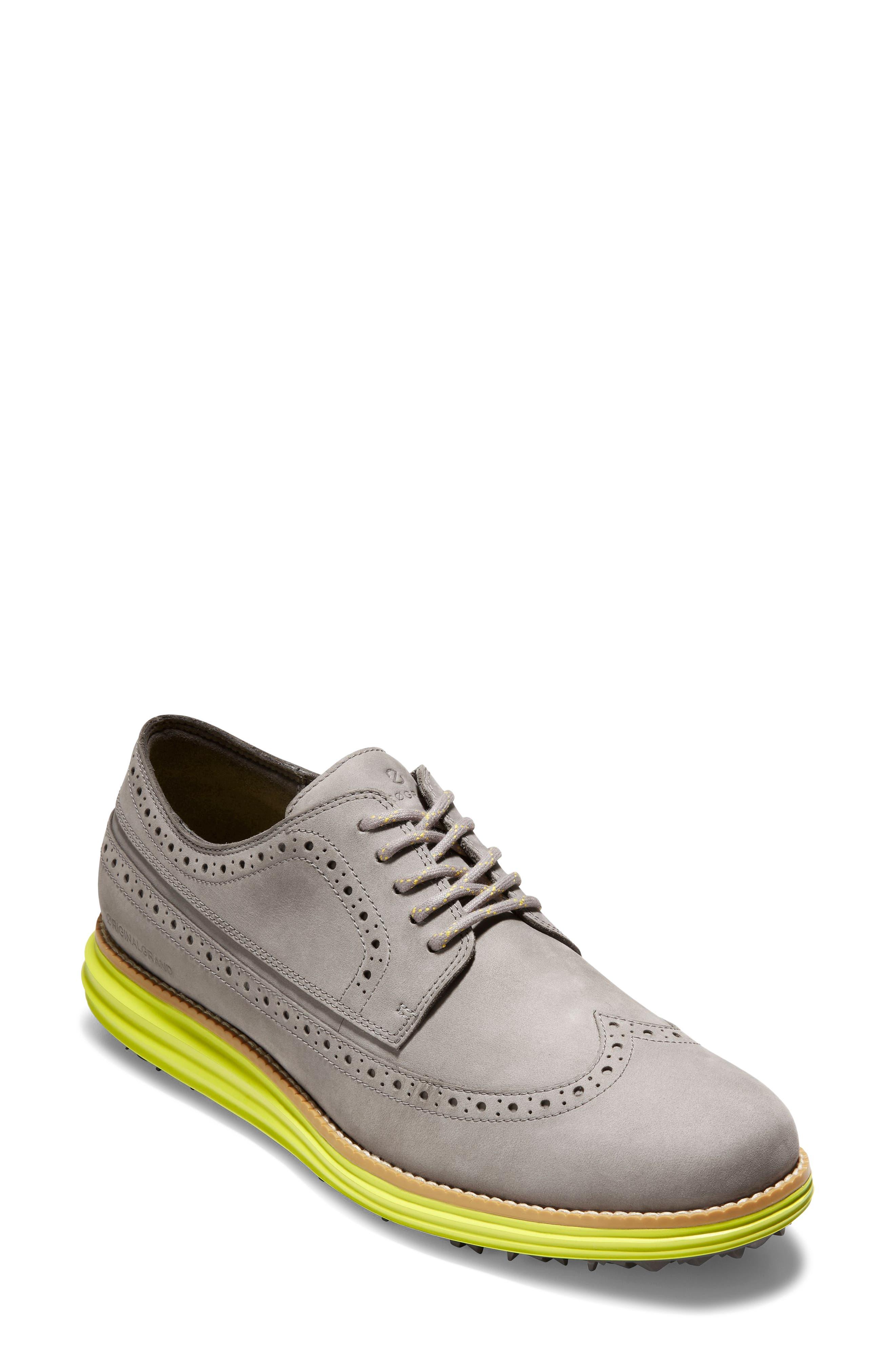 Originalgrand Water Resistant Wingtip Golf Shoe