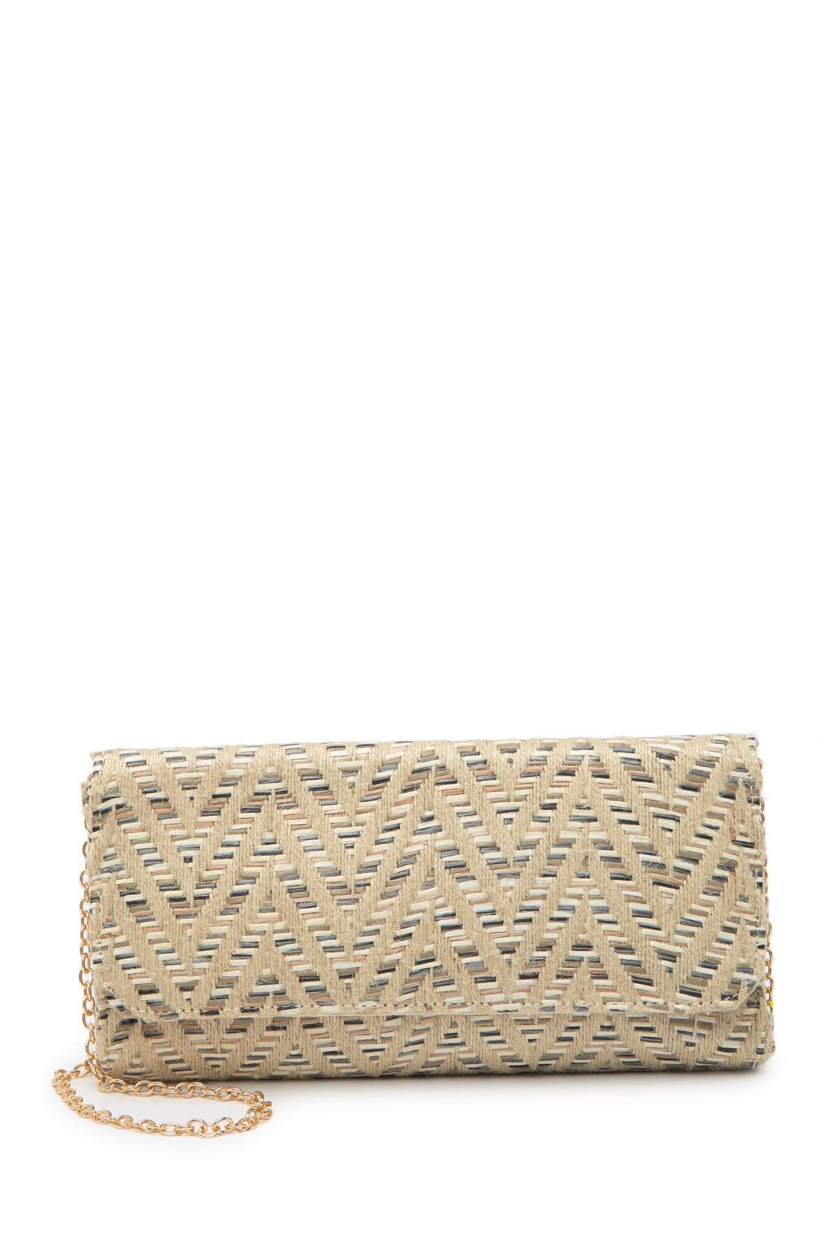 Image of Urban Expressions Bahamas Multicolored Crossbody Clutch