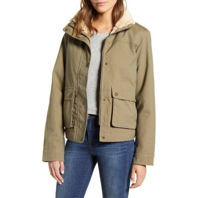 Patagonia Maple Grove Water Repellent Field Jacket, Green