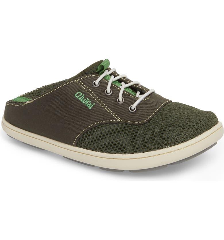 OLUKAI Nohea Moku Water Resistant Shoe, Main, color, 348