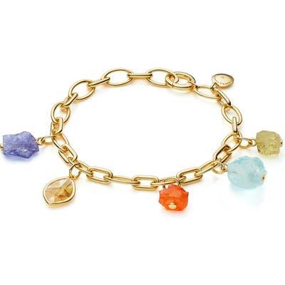 Monica Vinader X Caroline Issa Gemstone Bracelet