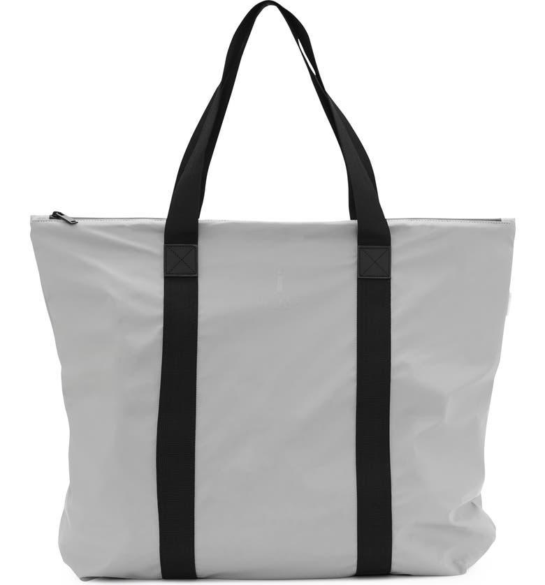 RAINS Waterproof Tote Bag, Main, color, STONE