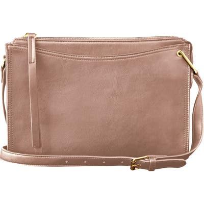 Urban Originals Melody Vegan Leather Crossbody Bag - Beige