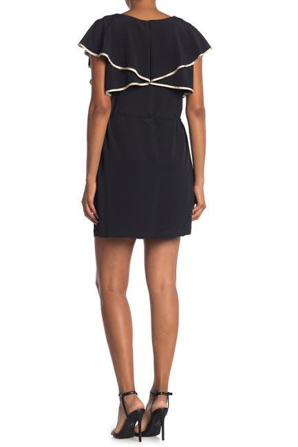 Image of SEE U SOON Flutter Sleeve Waist Tie Dress
