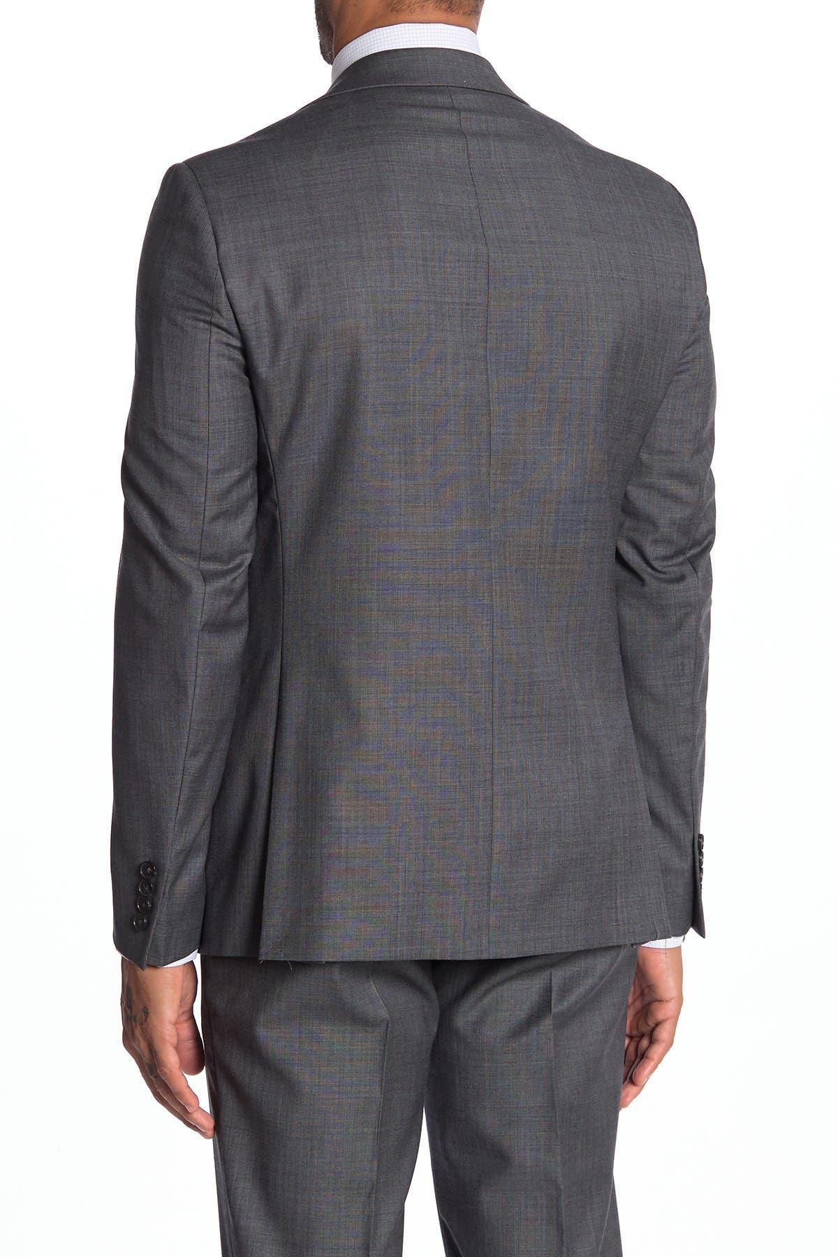 Image of Calvin Klein Malbin Notch Collar Slim Fit Suit Separate Jacket