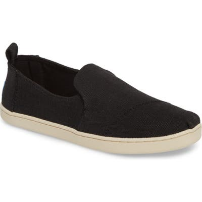 Toms Deconstructed Alpargata Slip-On- Black