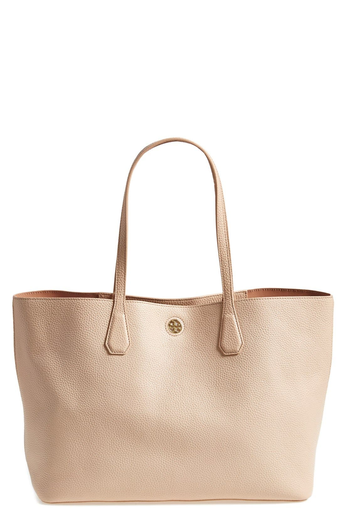 ,                             'Perry' Leather Tote,                             Main thumbnail 11, color,                             250