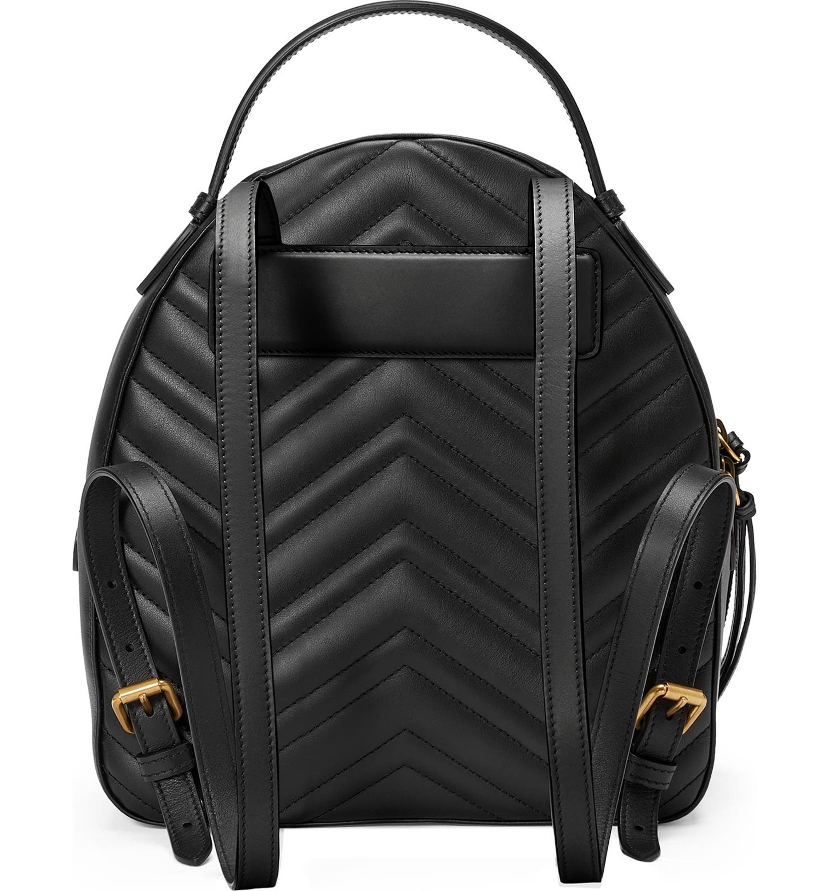 08e74ea95d1f Gucci GG Marmont Matelassé Quilted Leather Backpack | Nordstrom