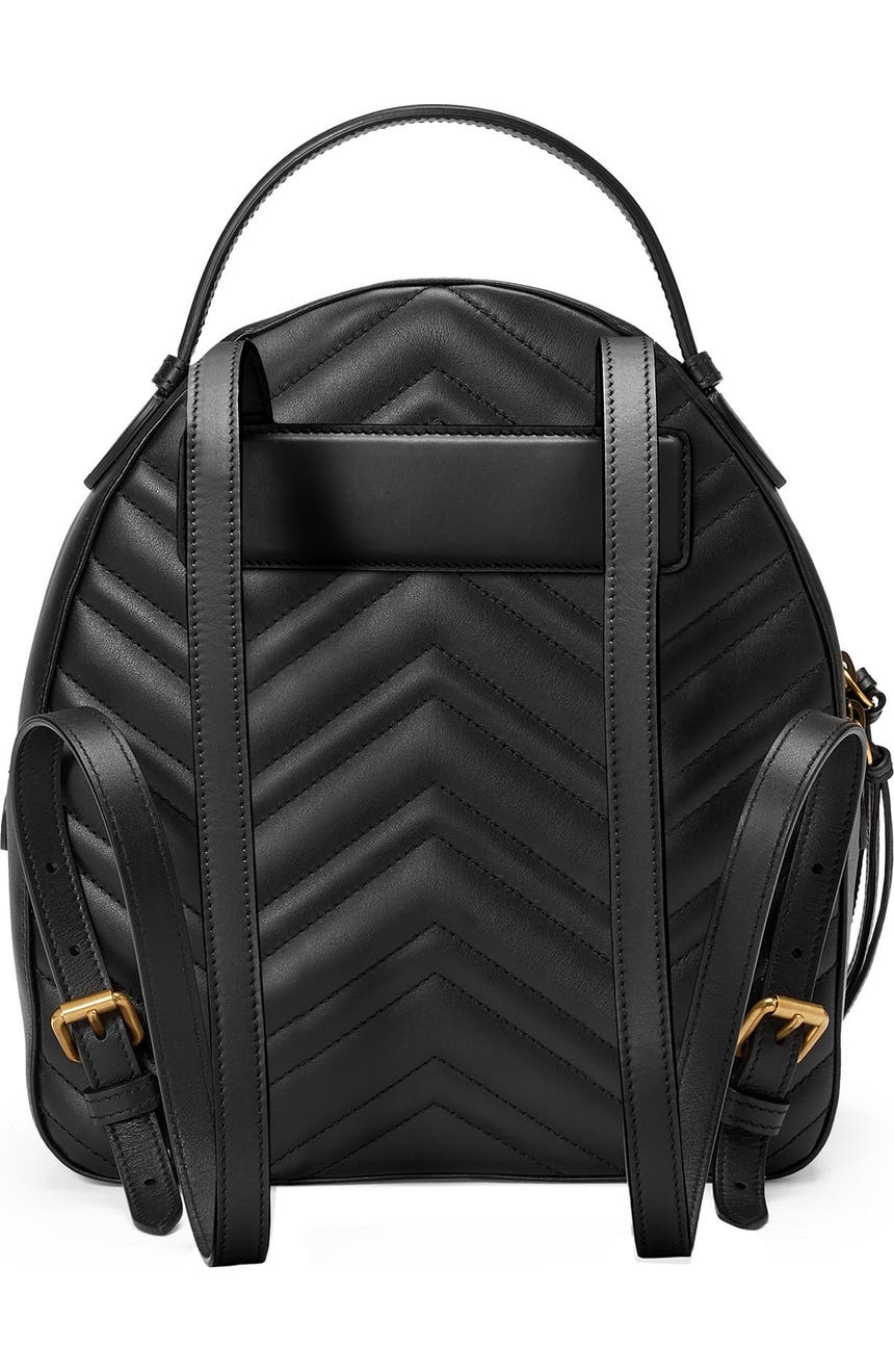 e140a9b42b5c Gucci GG Marmont Matelassé Quilted Leather Backpack | Nordstrom
