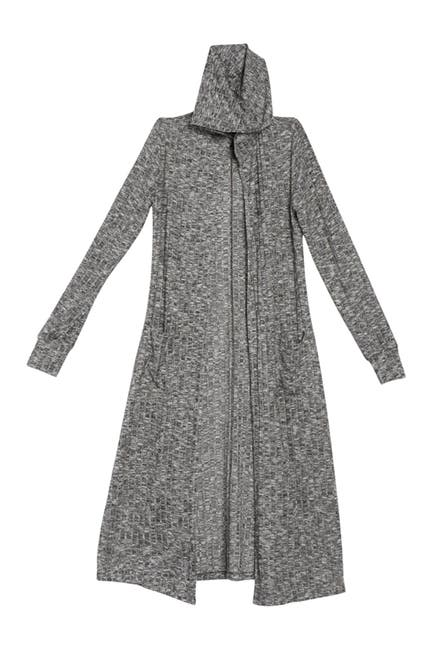 Image of MATERIAL GIRL Hooded Knit Cardigan