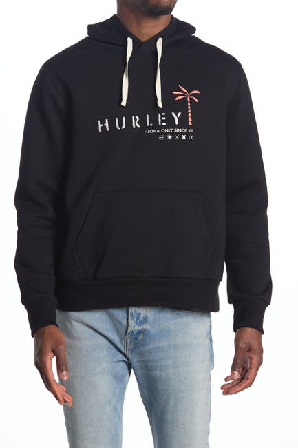 Image of Hurley Tropical Mindstate Logo Hoodie