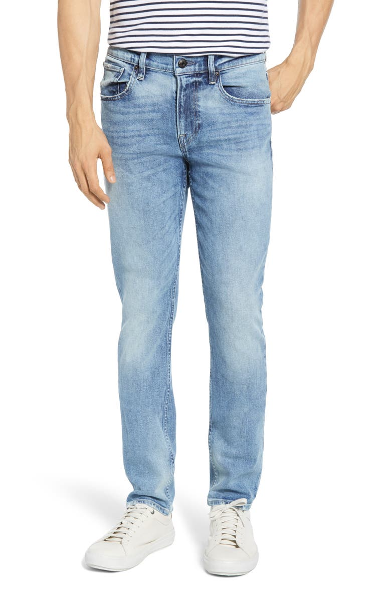HUDSON JEANS Blake Slim Straight Leg Jeans, Main, color, FACTORY