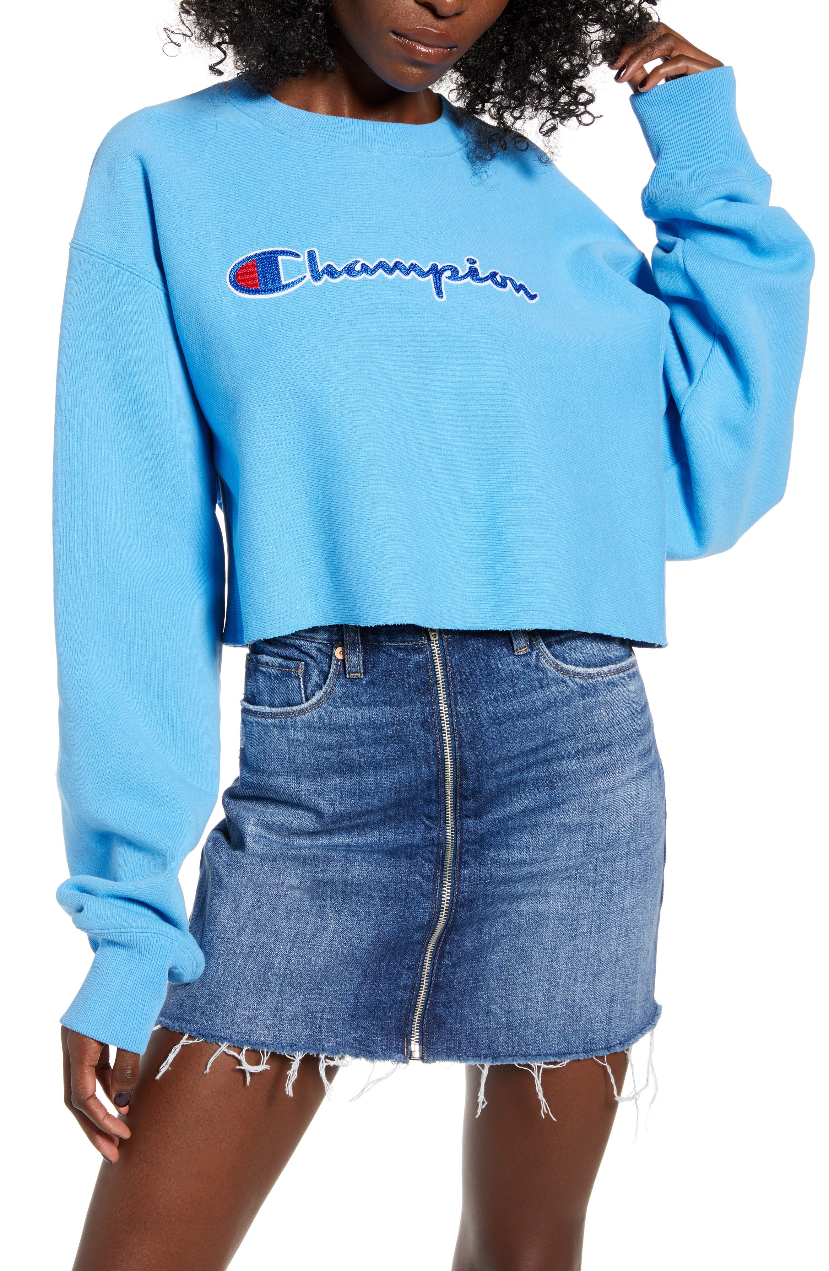 Champion Reverse Weave® Crop Sweatshirt