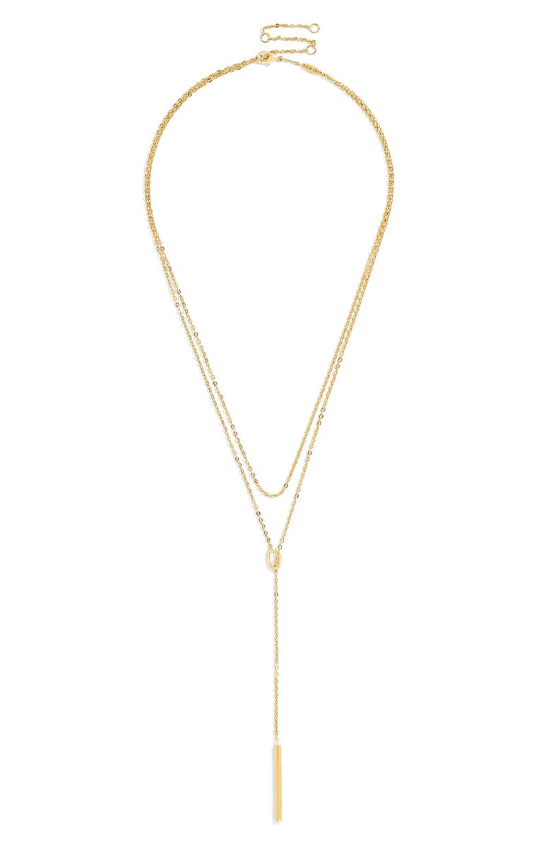 BAUBLEBAR Isabella Everyday Fine Layered Necklace, Main, color, 710