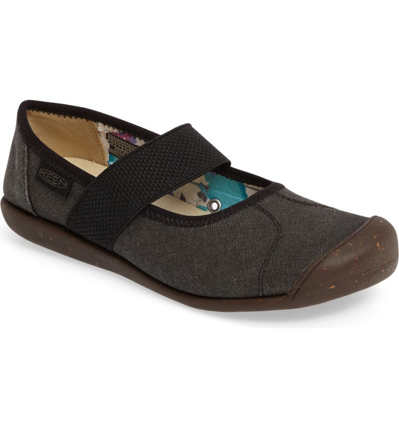 KEEN 'Sienna' Mary Jane, Main, color, NEW BLACK FABRIC