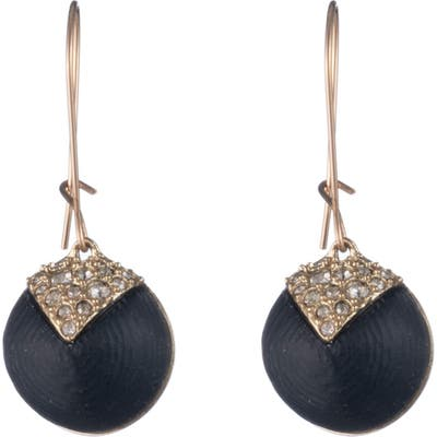 Alexis Bittar Crystal Encrusted Origami Dome Earrings