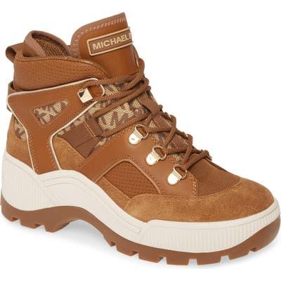 Michael Michael Kors Brooke High Top Sneaker- Brown