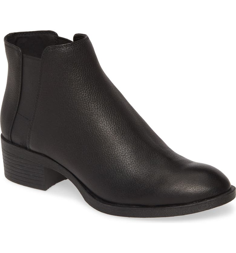 KENNETH COLE NEW YORK Levon Chelsea Bootie, Main, color, BLACK LEATHER
