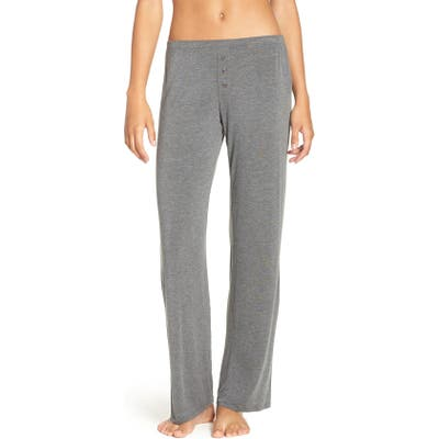 Pj Salvage Jersey Pajama Pants, Grey
