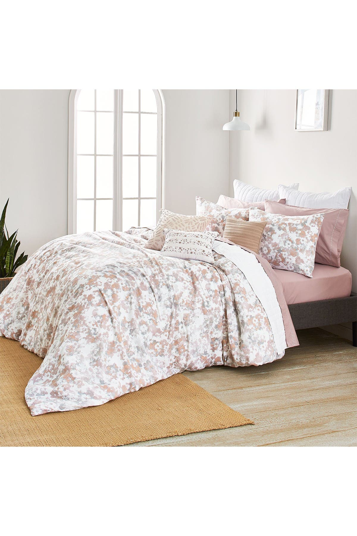 Image of SPLENDID HOME DECOR King Marin Cotton Comforter 3-Piece Set - Mist