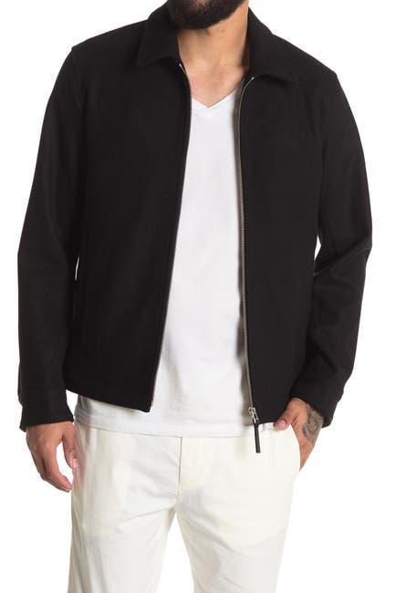 Image of Theory Wyatt Wool Blend Shirt Jacket