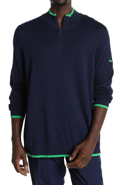 Image of PUMA Dark Blue Dunluce Golf Pullover