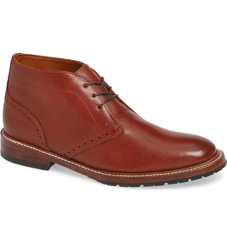 TWO24 by Ariat Elmhurst Lugged Chukka Boot, Main, color, COGNAC LEATHER
