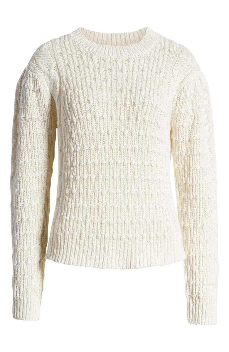 Cable Sweater, Alternate, color, IVORY DOVE