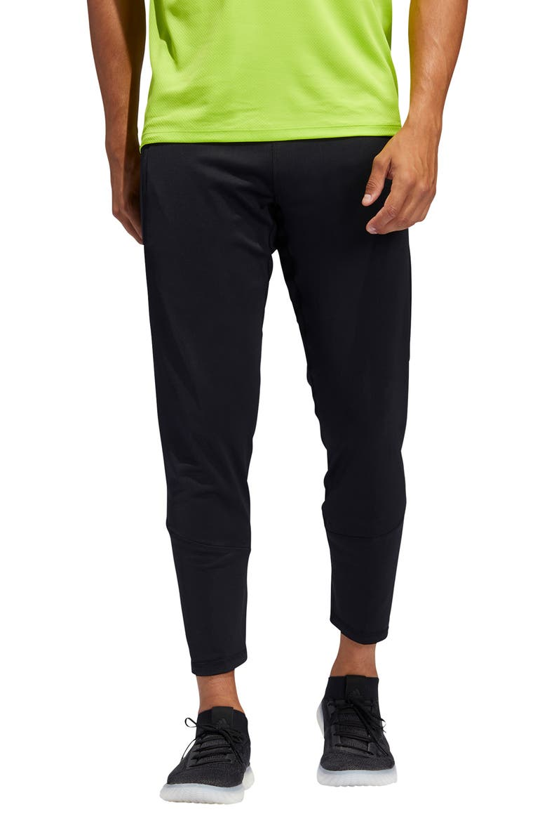 ADIDAS True Training Pants, Main, color, BLACK