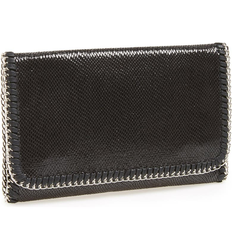 PHASE 3 'Lizard Chain' Foldover Clutch, Main, color, 001
