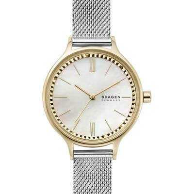 Skagen Anita Mesh Strap Watch, 30mm