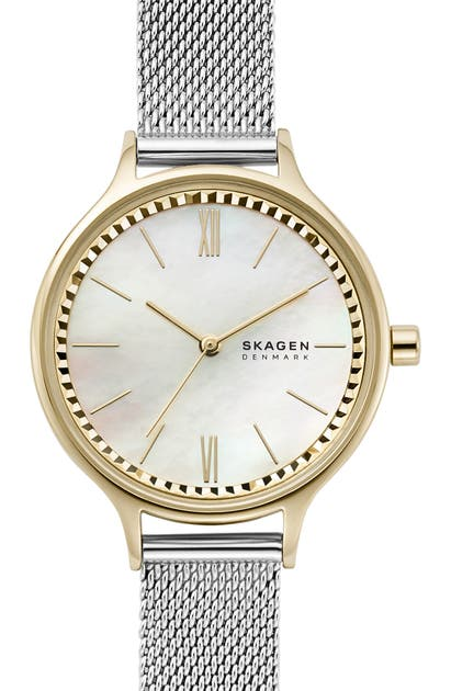 Skagen ANITA MESH STRAP WATCH, 30MM