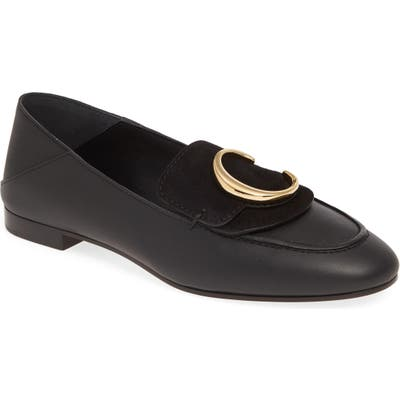 Chloe C Convertible Loafer, Black