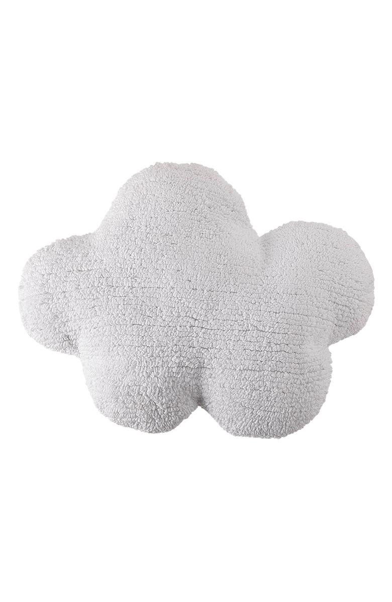 LORENA CANALS Cloud Cushion, Main, color, WHITE