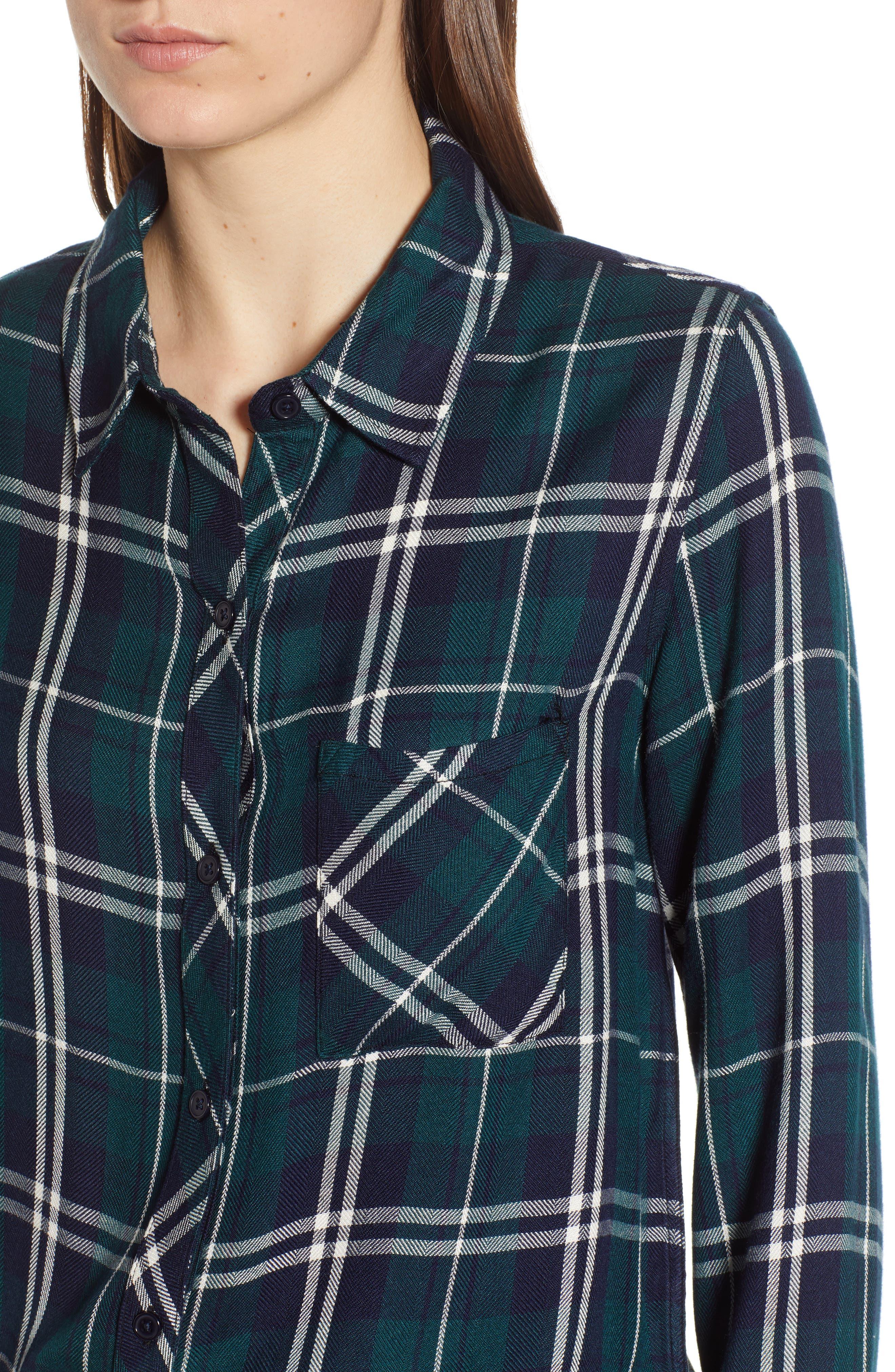 ,                             Hunter Plaid Shirt,                             Alternate thumbnail 364, color,                             419