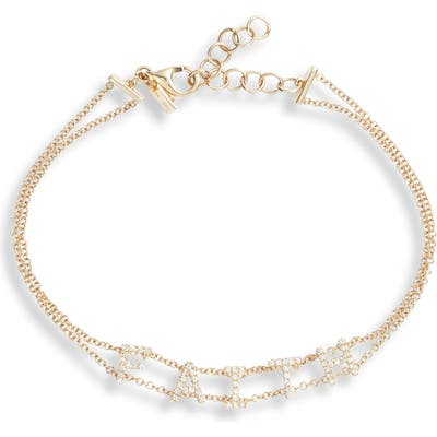 Ef Collection Faith Diamond Bracelet