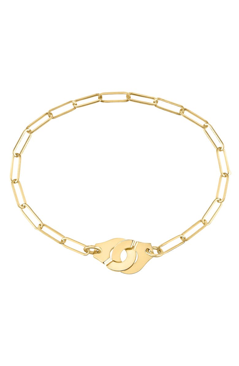 DINH VAN Menottes 18K Gold Bracelet, Main, color, 710