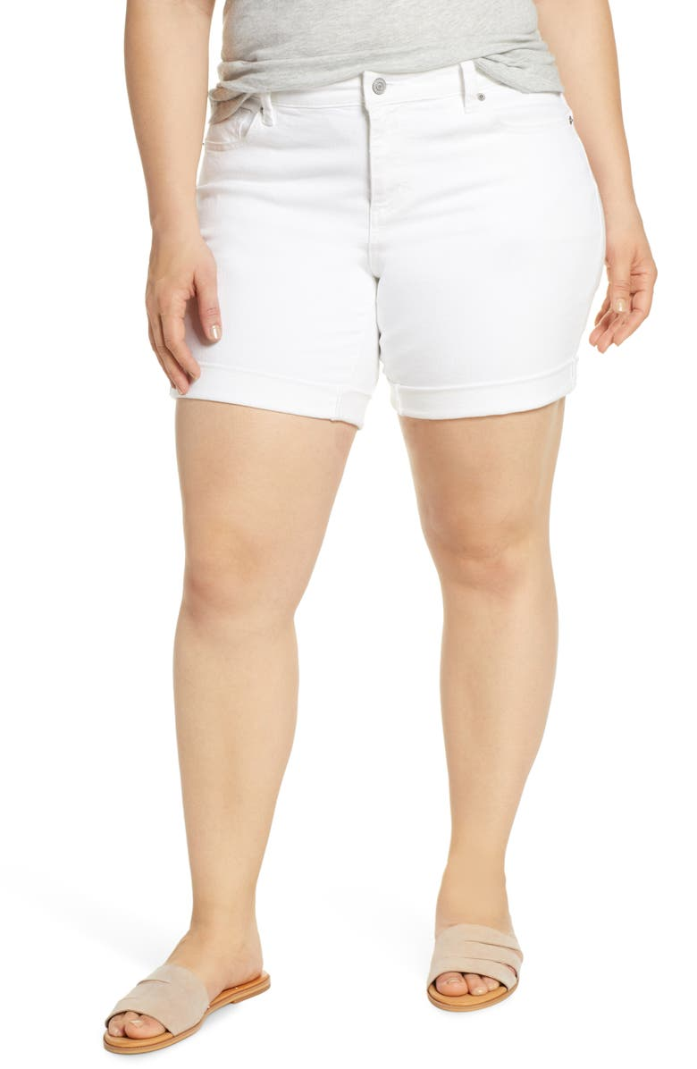LUCKY BRAND Georgia Roll Cuff Shorts, Main, color, 110