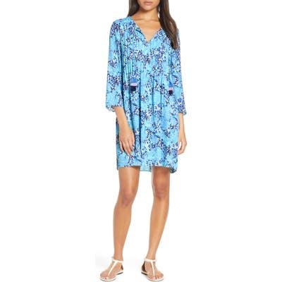 Lilly Pulitzer Marilina Tunic Dress, Blue