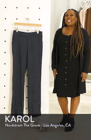 Lita Jacquard Trousers, sales video thumbnail