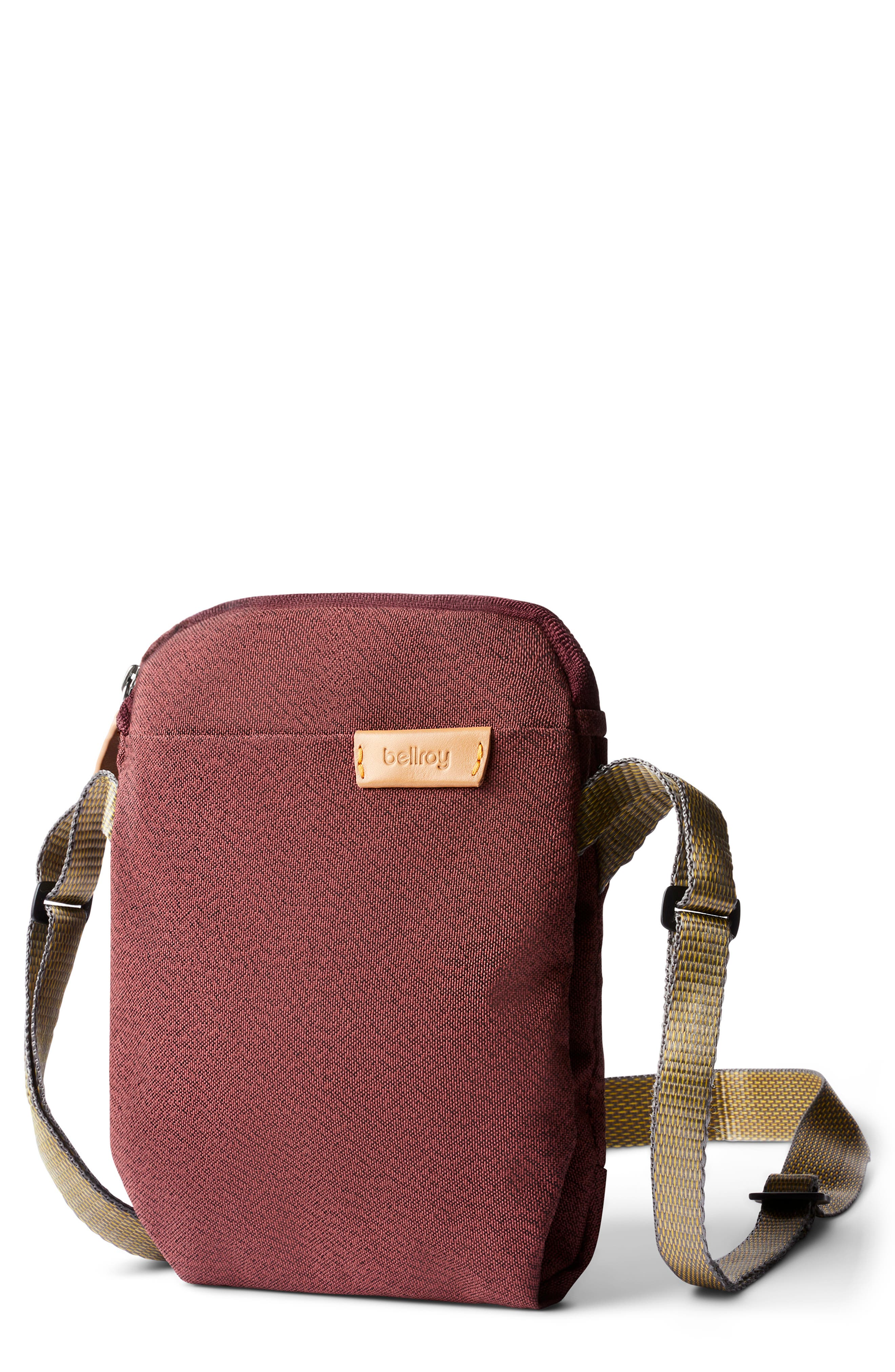 Water Repellent City Pouch Crossbody Bag