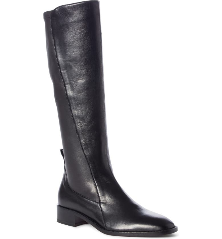 CHRISTIAN LOUBOUTIN Tagastretch Stretch Tall Boot, Main, color, BLACK