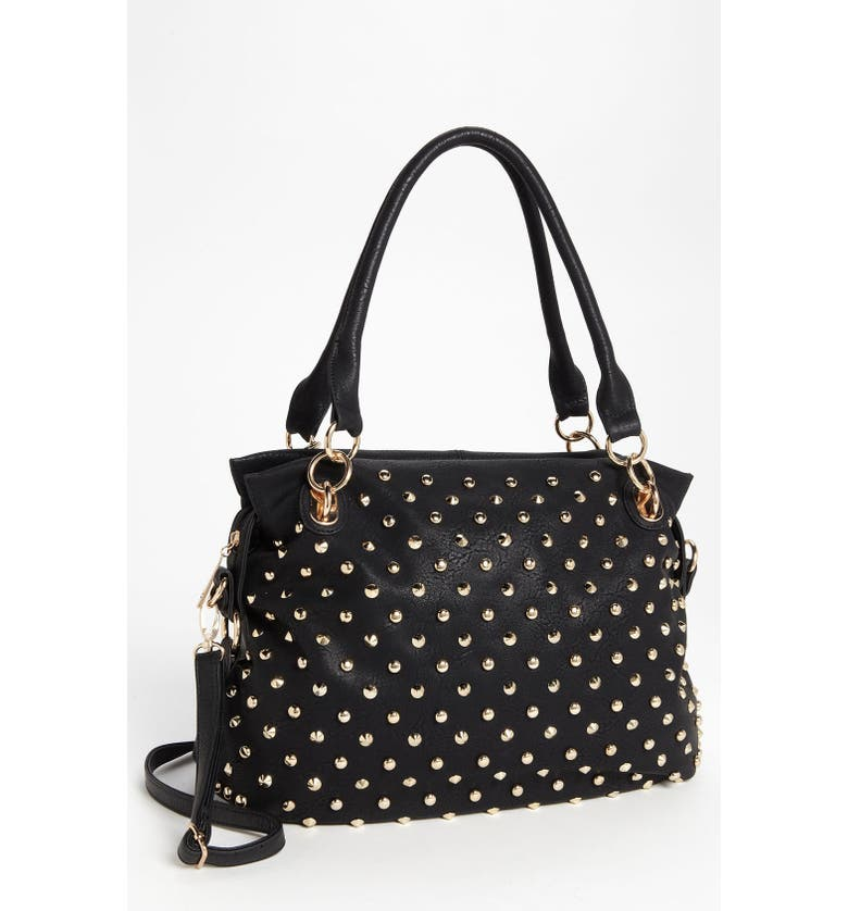 TOP CHOICE Studded Tote, Main, color, 001