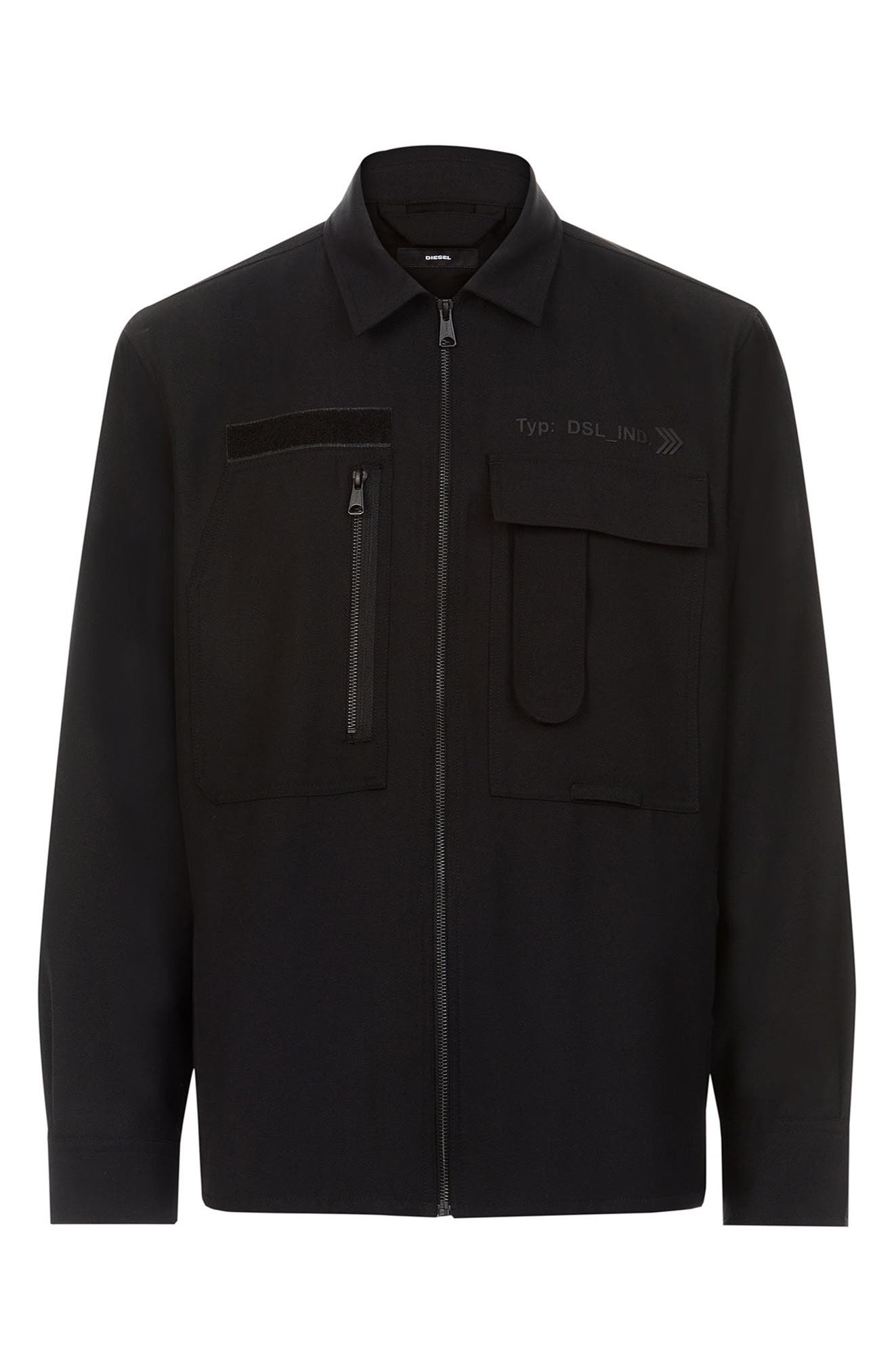 Men's Diesel S-Hotel Zip Shirt Jacket