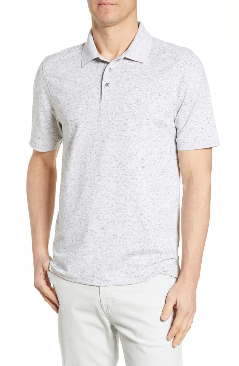 CUTTER & BUCK Advantage Space Dye Jersey Polo, Main, color, ELEMENTAL GREY