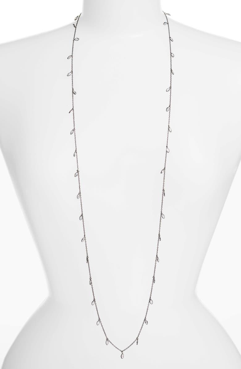 ELA RAE Diana Cubic Zirconia Necklace, Main, color, 003